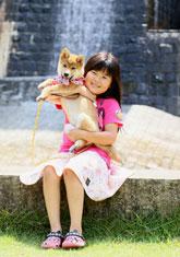 「愛犬と一緒に」乘松 賢二